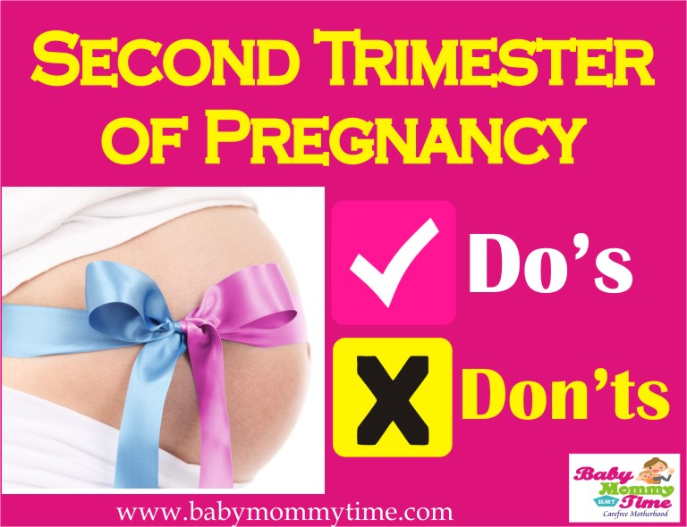 Do's & Don'ts: Second Trimester of Pregnancy