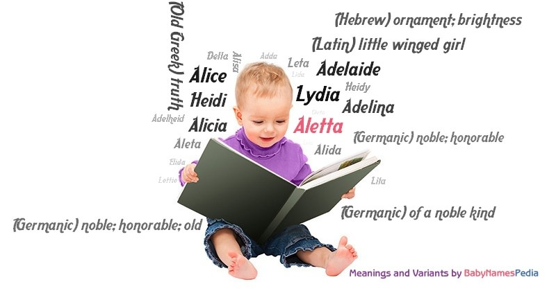Meaning of the name Aletta
