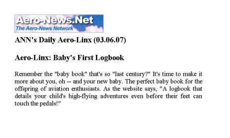 Aero-News.Net, March 2007