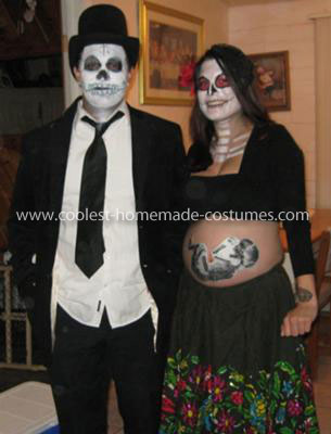Funny Halloween Costumes For Pregnant Couples.Pregnant Couple Halloween Costume The Halloween And Makeup