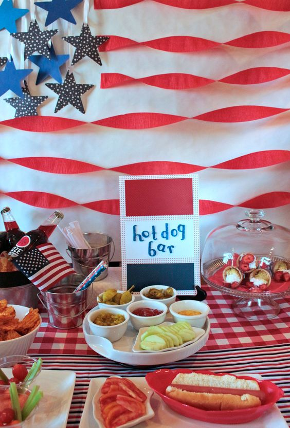 4th July Party Theme