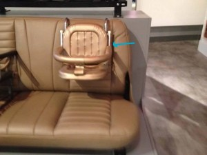 car seat from the 1970s