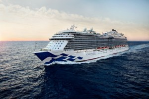 Princess ocean cruise ship