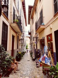 alley in Spain