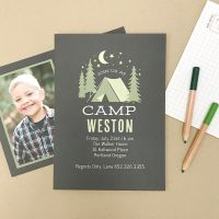 Got a birthday, baptism or graduation in the works? There's nothing like personalized party invitations!