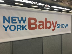 NY Baby Show banner 2019 car seat safety