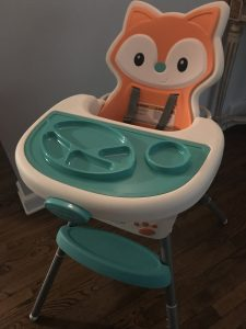 Grow-with-me convertible high chair