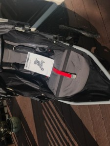 BOB jogging stroller with manual