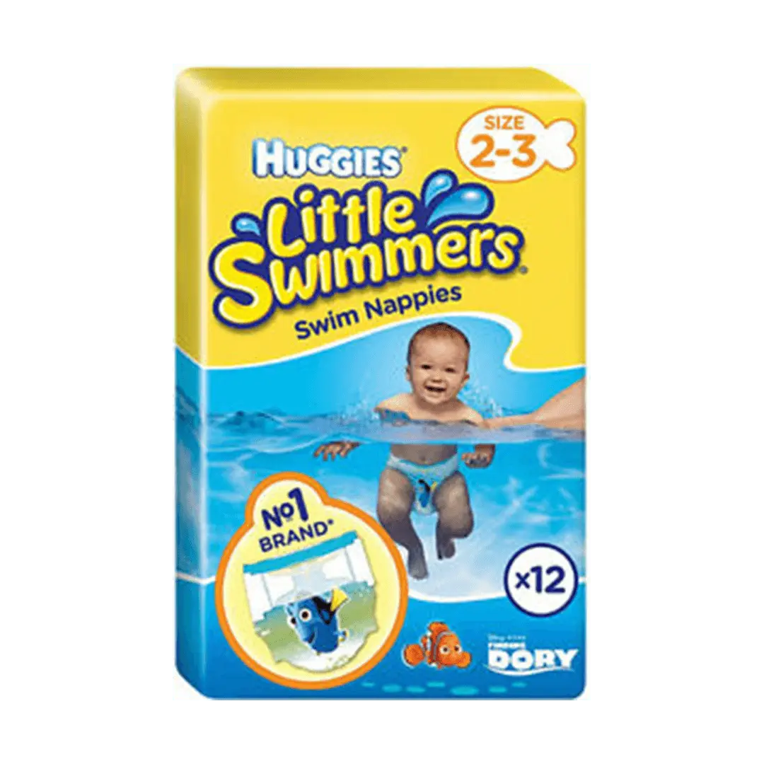 Huggies Little Swim Diapers, X-Small 3-8kg, 01-Count (Loose Pack)