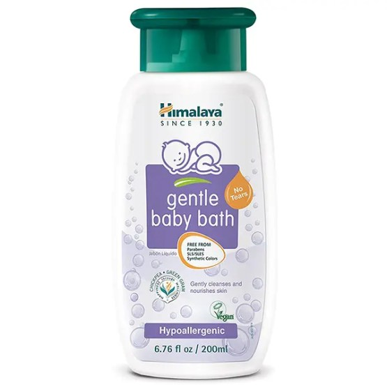 Himalaya Gentle Baby Bath, 6.76 oz (200 ml)