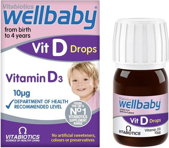 Vitabiotics Wellbaby Vit D Drops – 30ml