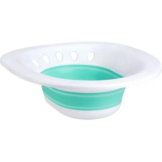 Zafina Sitz Bath for Toilet Seat, Foldable Postpartum Care Basin