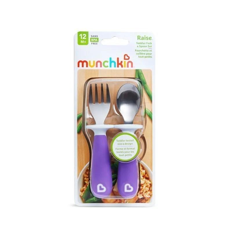 Nursery-products-distributor-of-Munchkin-Raise-Fork-Spoon-Set-MKN-FED19-8