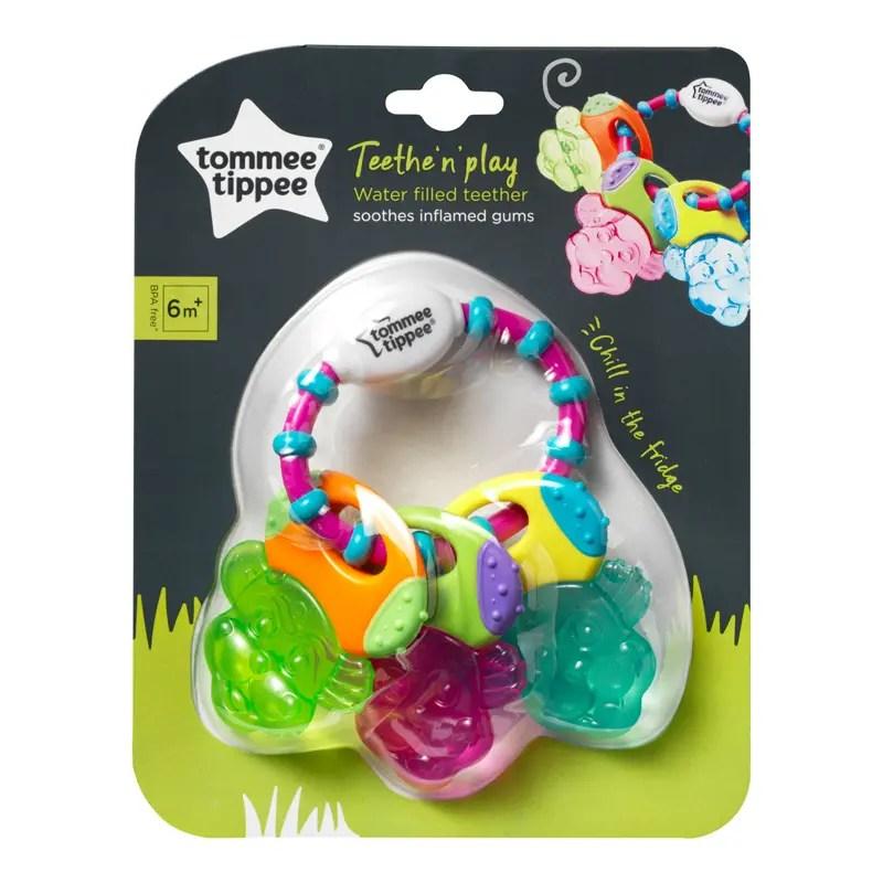 Tommee Tippee Teethe & Play Teether Keys 6M+