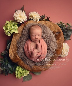 Pink Newborn Fabric