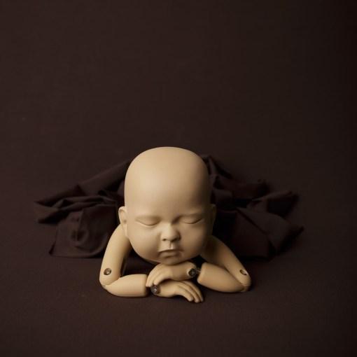Brown Newborn Baby Backdrop