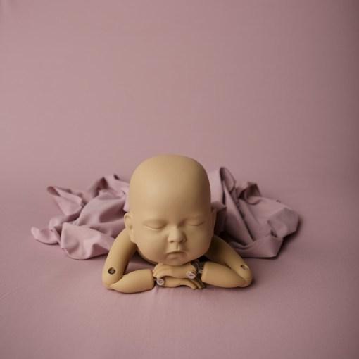 Pink Newborn Photo Backdrop