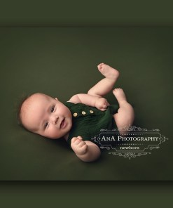 Green Newborn Fabric