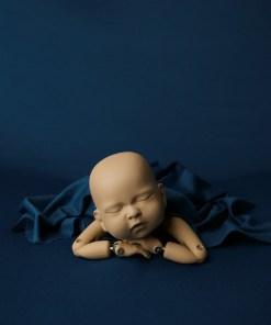 Ocean Newborn Photography Backdrop Fabric