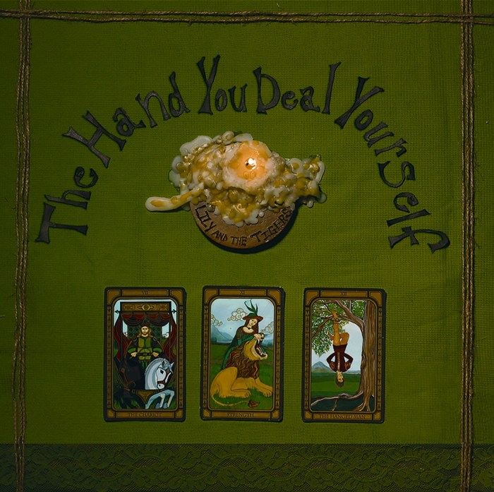 The Hand You Deal Yourself album cover lily and the tigers casey hood adam mincey jared pepper baby robot latest disgrace