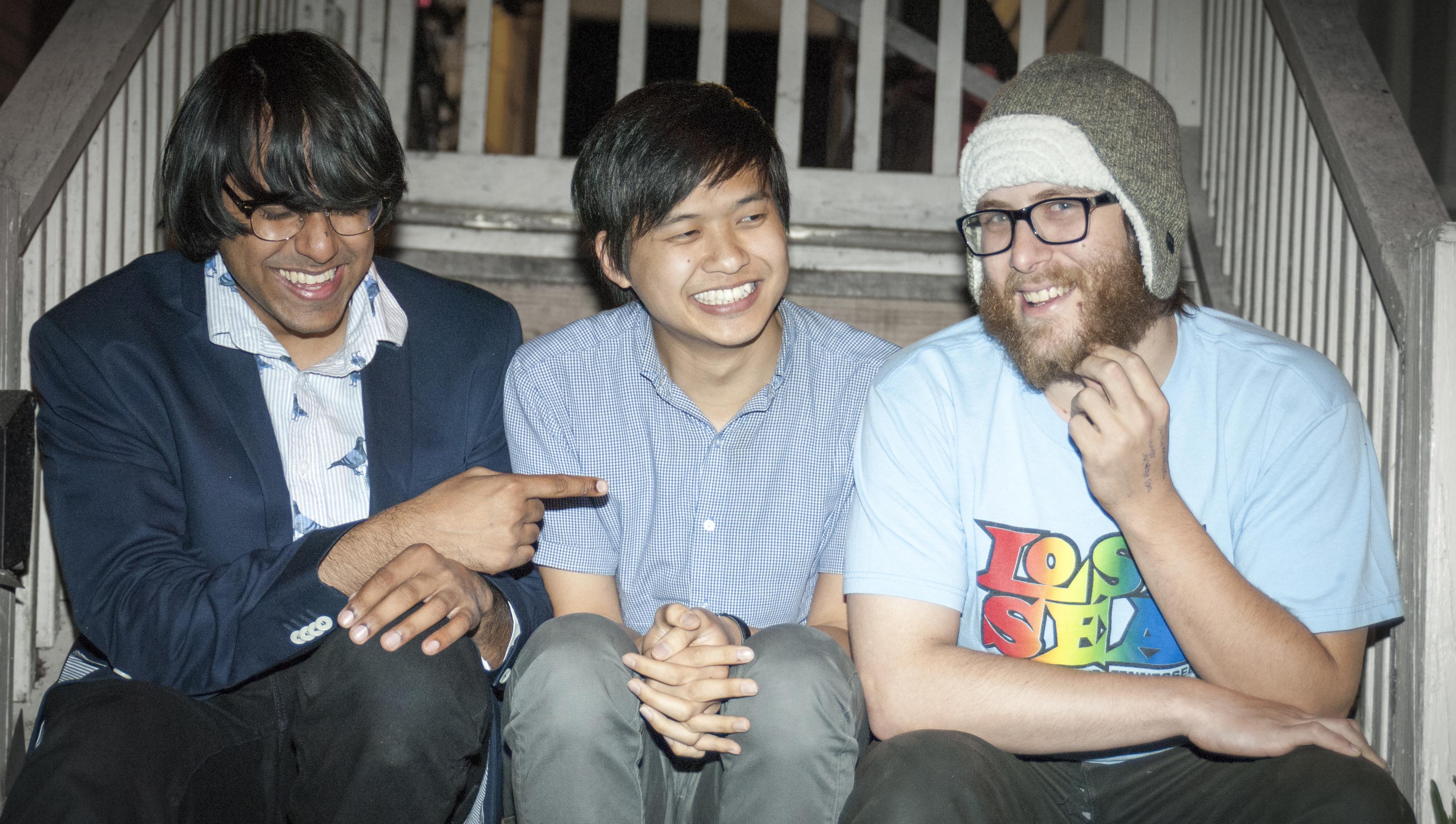 Pillage & Plunder and Gokul Parasuram Hsiang-Ming Wen Noah Kess the show must go wrong baby robot media