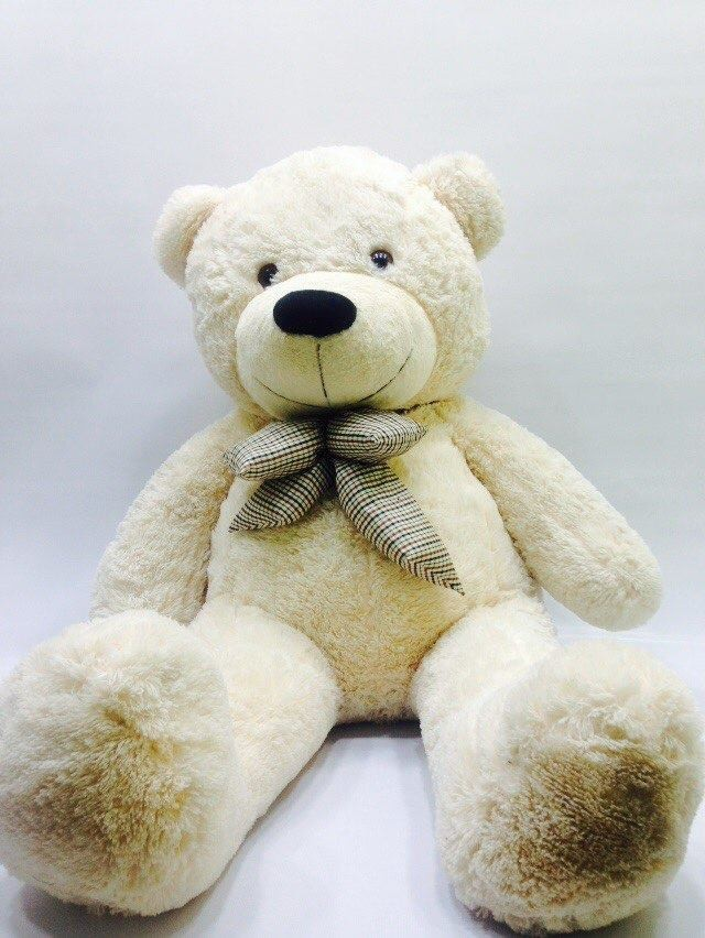 Buy Soft Huge Teddy Bear With Bow Tie Online In Nepal