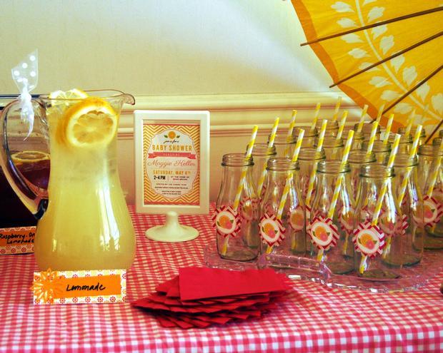 Glitter Lemons Punchy Pink Lemonade Lemon Slice Cookies For A Glam Bridal Shower