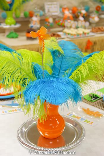 Safari Baby Shower Table Decorations