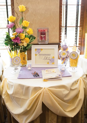 Sweet Lemon Amp Lavender Baby Shower Baby Shower Ideas Themes Games