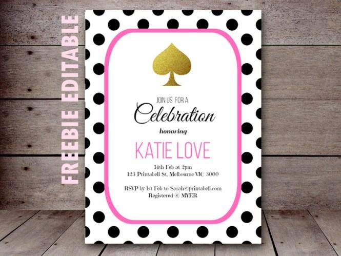 kate spade inspired wedding invitations kate spade polka dot wedding invitations wedding invitation sample - Kate Spade Wedding Invitations