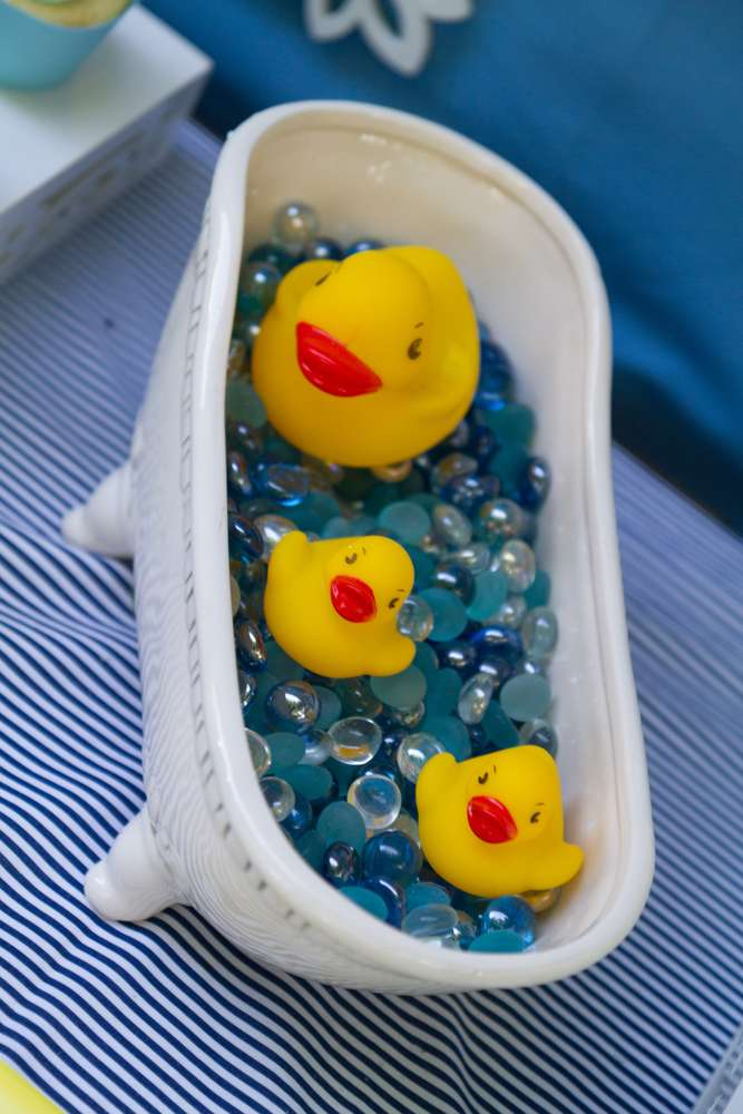 Yellow Duck Baby Shower Decorations