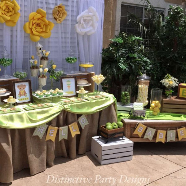 Safari Theme Baby Shower Ideas