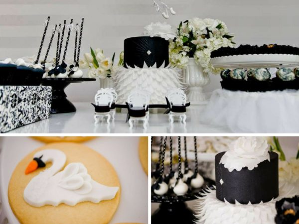 Sophisticated Swan Lake Baby Shower Baby Shower Ideas