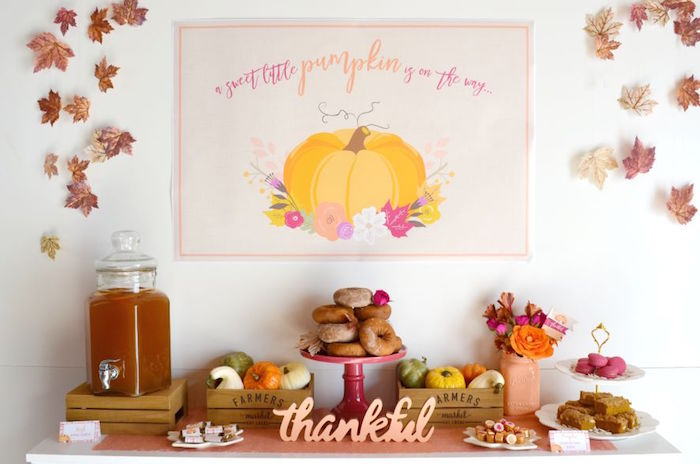Sweet Little Pumpkin Baby Shower Baby Shower Ideas