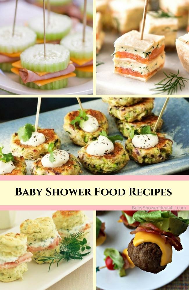 Easy Baby Shower Food Recipes Baby Shower Ideas Themes