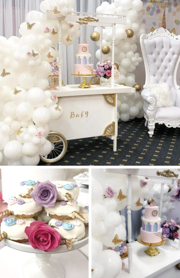 Butterfly And Unicorn Baby Shower Baby Shower Ideas