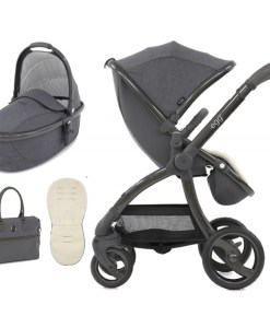 egg-special-edition-2in1-pram-system-with-changing-bag-fleece-liner-quantum-grey-free-car-seat-adaptors-worth-164