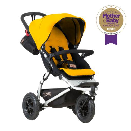 Mountain Buggy Swift Pushchair Gold