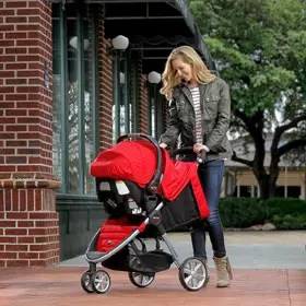 Britax 2014 B-Agile and B-Safe Travel System Red Review