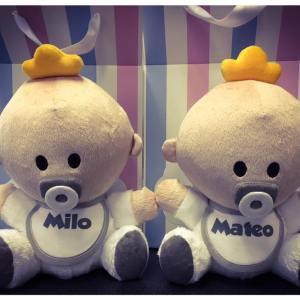 Muñecos Babyyo Gemelos