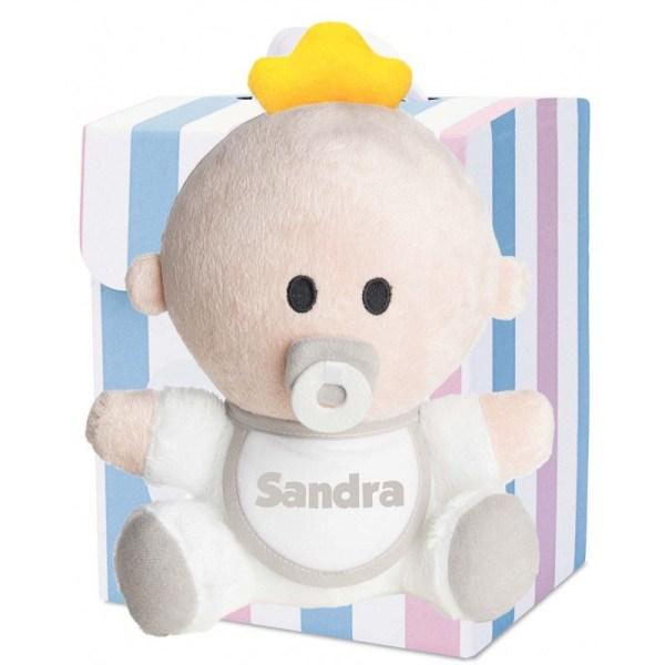 muñeco babyyo peluche bebé blanco rubio