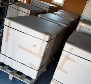 protection carton ondulé transport