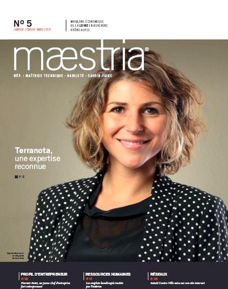 Couverture Magasine économique Maestria
