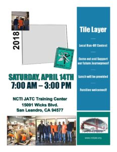 2018 flyer tile contest bricklayers tilesetters and allied craftworkers local 3 union