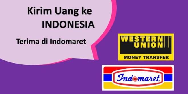 kirim uang western union ke indonesia