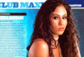 La nica de los videos, Karla Andrade en Maxim es Español