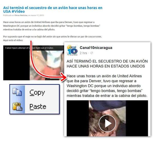 canal 10 copy paste