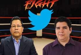 Guerra en Twitter: Miguel Mora de 100% Noticias Vs. Bacanalnica