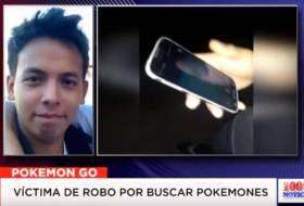 Graban asalto en León por andar buscando Pokemons (montaje?) y 100% Noticias se lo cree