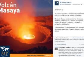 Ese NO es el Volcán Masaya. Lo bueno es que sos agencia de turismo